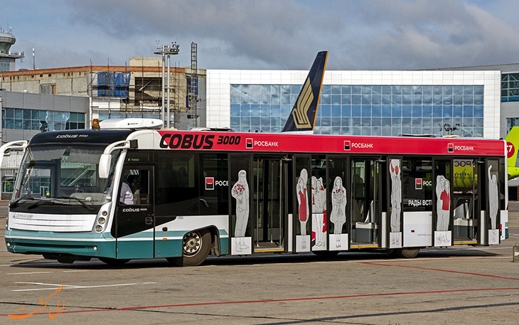 اتوبوس فرودگاه مسکو