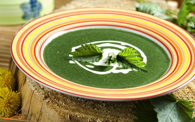 سوپ گزنه