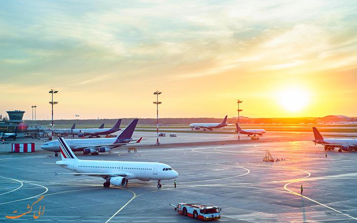 ترافیک هواپیما در باند
