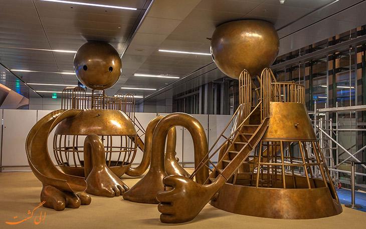 محوطه بازی کودکان در فرودگاه دوحه