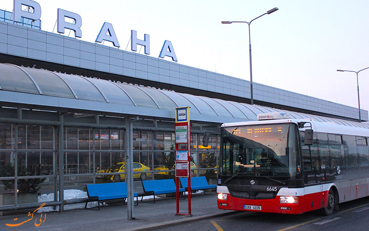 اتوبوس فرودگاه پراگ