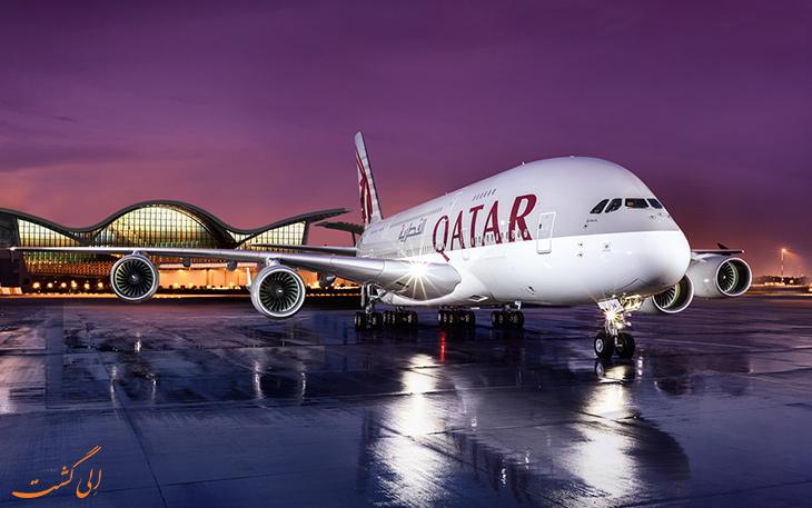 هواپیمای قطر ایرویز