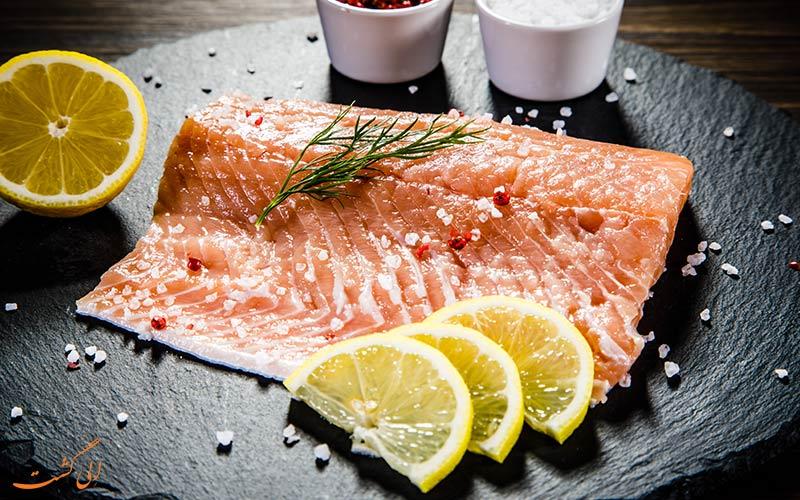 ماهی سالمون دریای بالتیک
