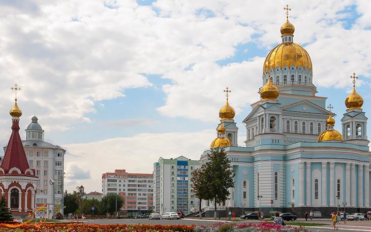 شهر سارانسک در روسیه