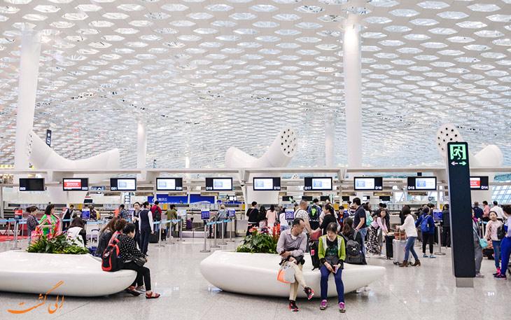 حمل و نقل فرودگاه شنزن چین