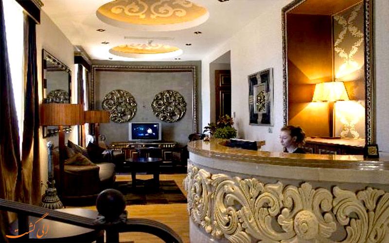 خدمات رفاهی هتل سلطان این بوتیک باکو- میز پذیرش