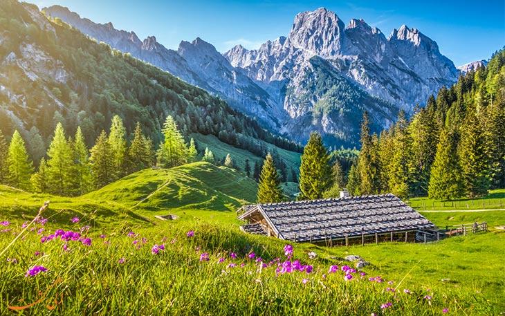 بازدید از پارک ملی سوئیس