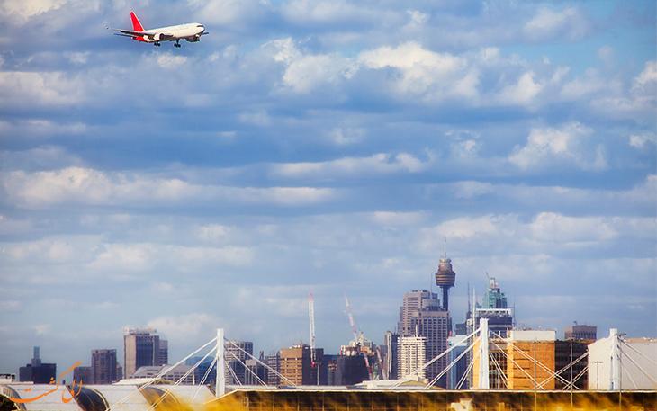 حمل و نقل فرودگاه سیدنی