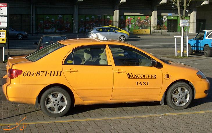 تاکسی ونکوور