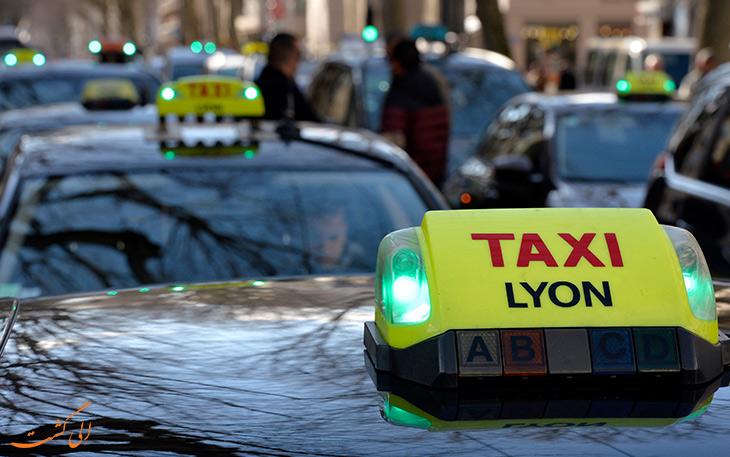 تاکسی لیون