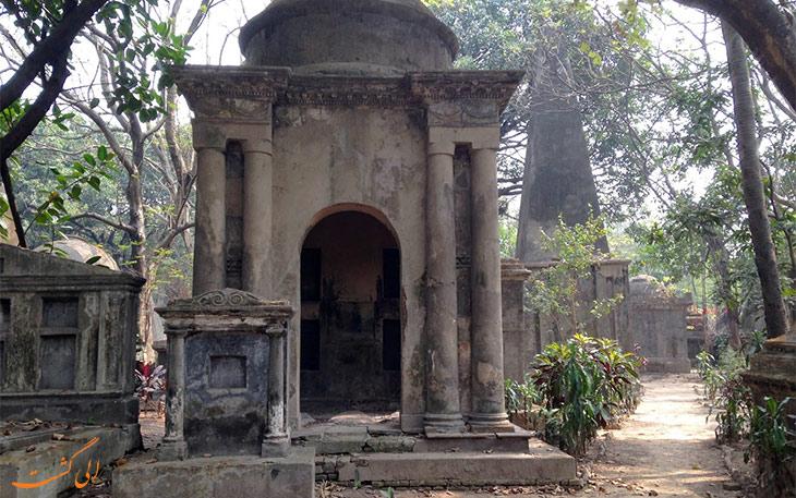 آرامگاه قدیمی در کلکته