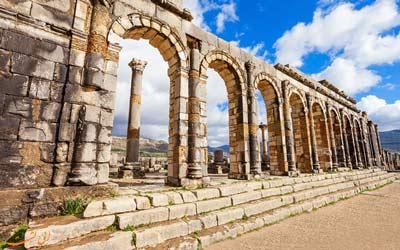 شهر ولیلی مراکش