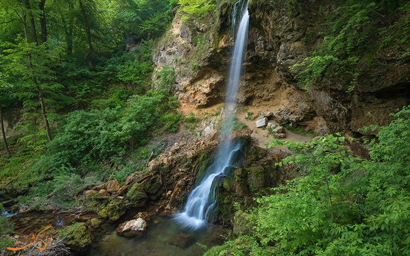 بلندترین آبشار مجارستان