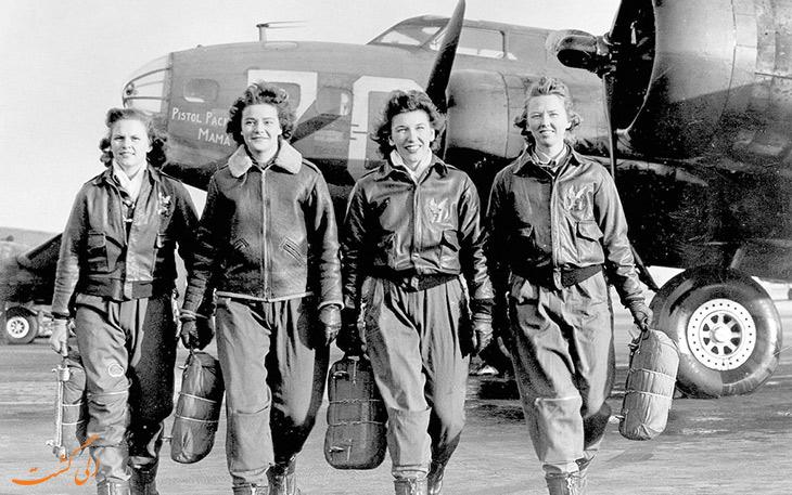 7 مورد از زنان رکوردشکن صنعت هواپیمایی
