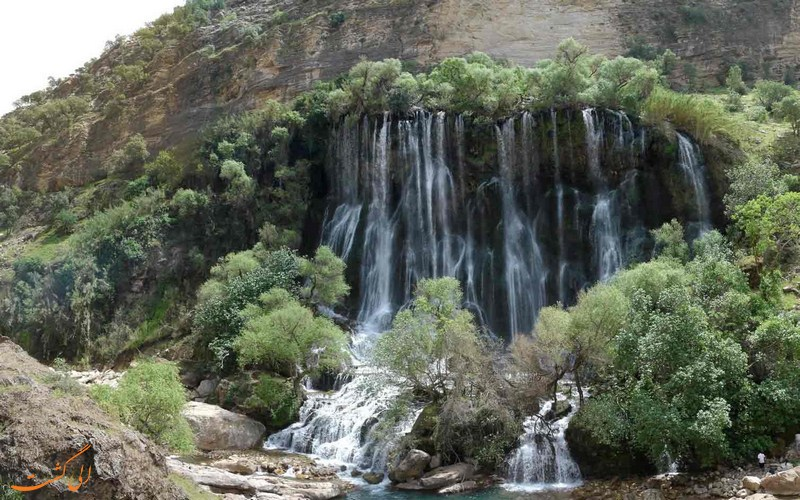 جاذبه های گردشگری دزفول - آبشار شوی