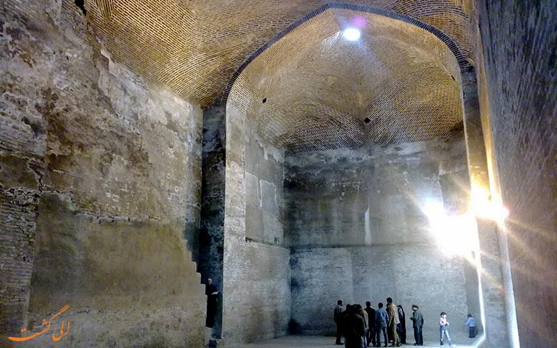 آب انبار مسجد جامع قزوین- الی گشت