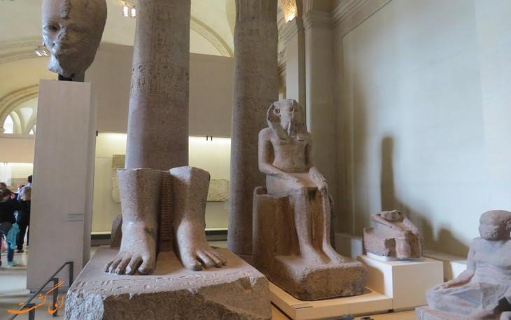 آثار مصری موزه لوور