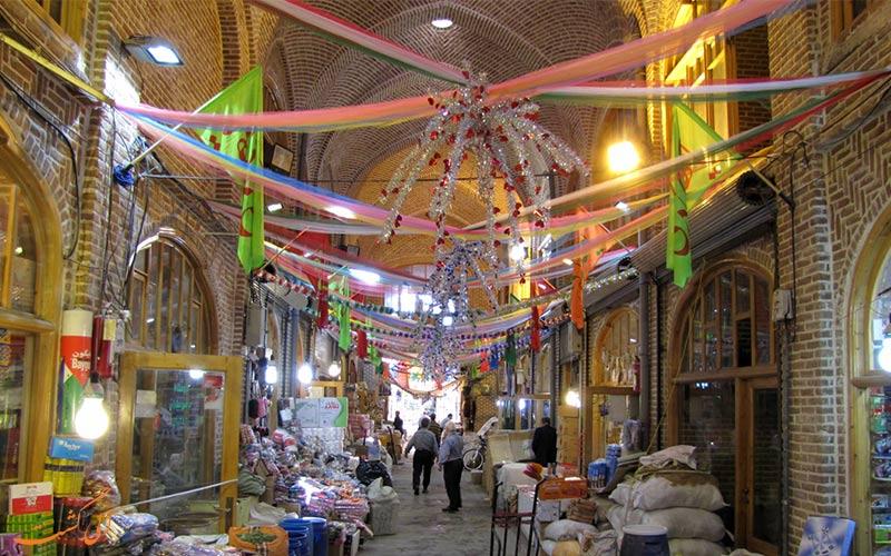 بازار-تبریز- شاهکارهای معماری ایران