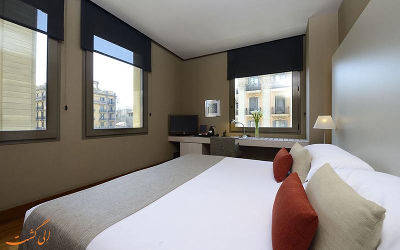 امکانات اتاق های هتل گرند سنترال بارسلونا