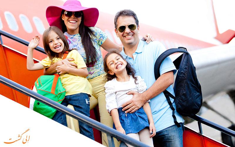 سفرهای خانوادگی در آسیا