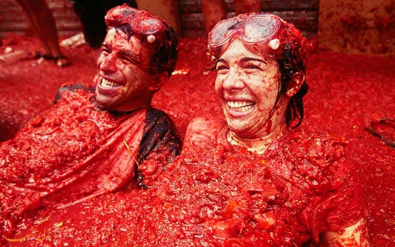جشن گوجه
