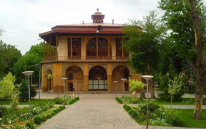 عمارت کلاه فرنگی قزوین- الی گشت