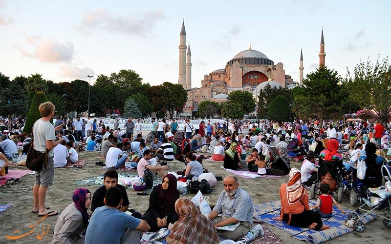 ماه رمضان در ترکیه - مساجد ترکیه