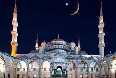 ماه مبارک رمضان در ترکیه - الی گشت