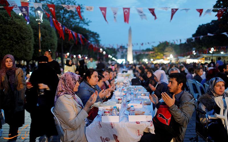 ماه رمضان ترکیه - افطاری