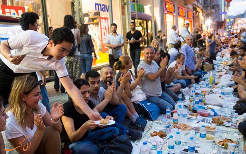 ماه مبارک رمضان در ترکیه- تور ترکیه در ماه رمضان