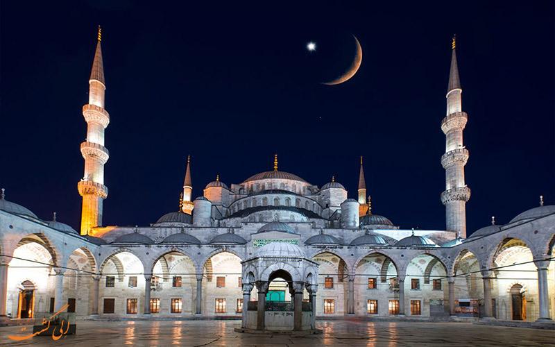 دیدن ماه مبارک رمضان ترکیه