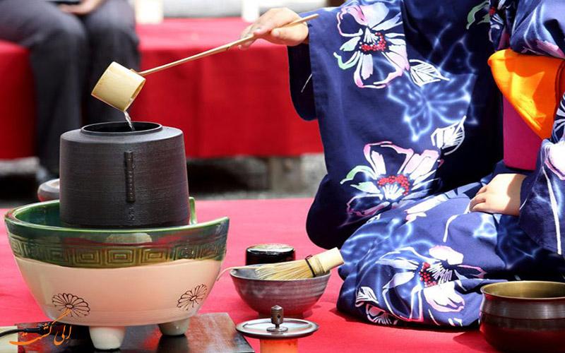آداب و رسوم چای خوردن در ژاپن