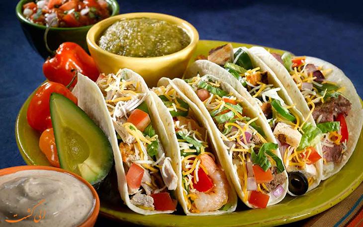 هزینه خورد و خوراک در مکزیکوسیتی