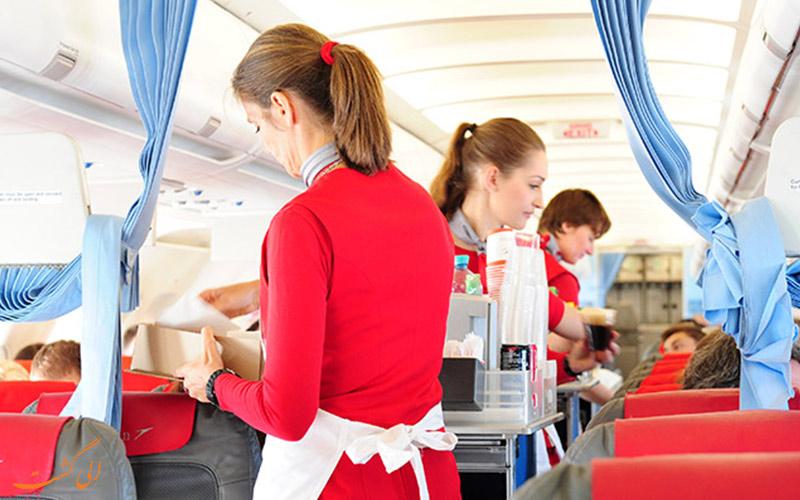 پروازهای بیزینس کلاس شرکت هواپیمایی آسترین ایرلاینز