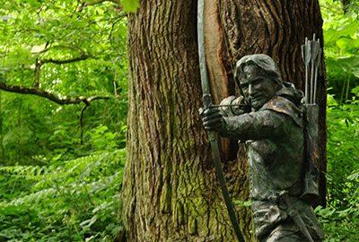 جنگل شروود انگلستان