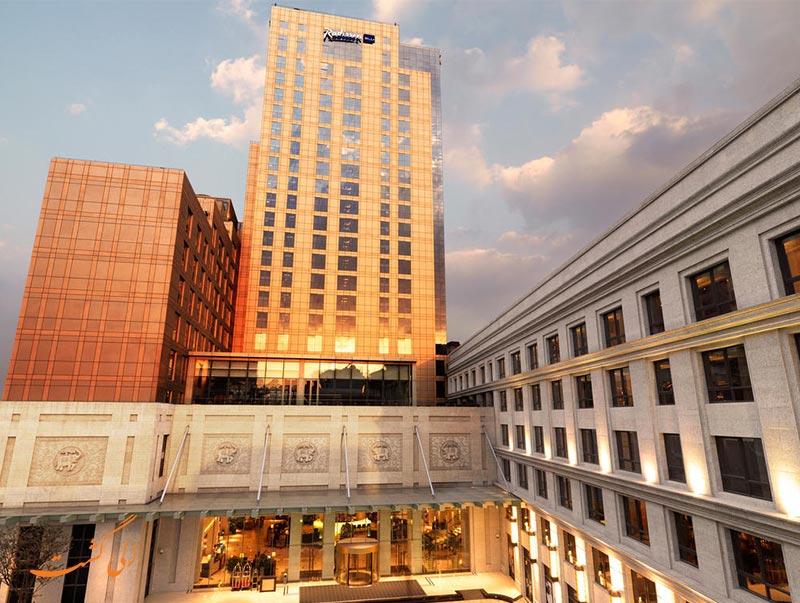 هتل رادیسون بلو هنگ کوان شانگهای