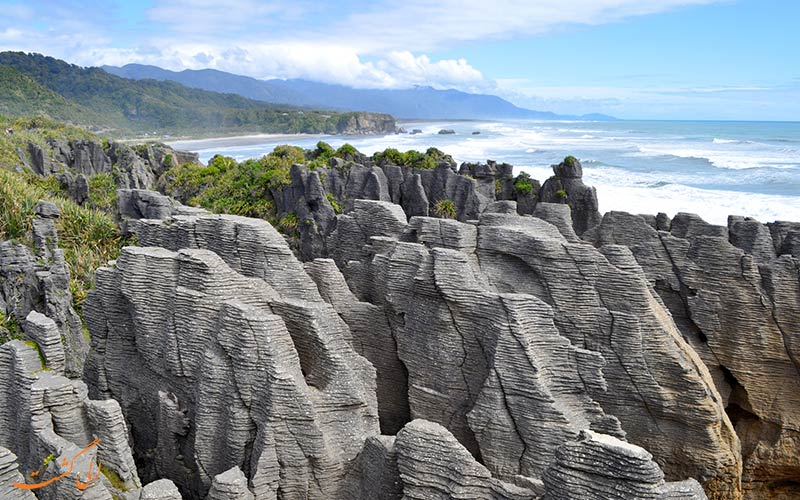 صخره های پنکیکی
