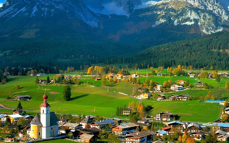 شهرهای معروف اتریش