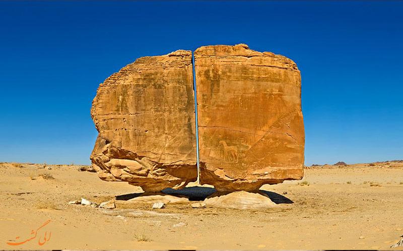 صخره باستانی النسلا