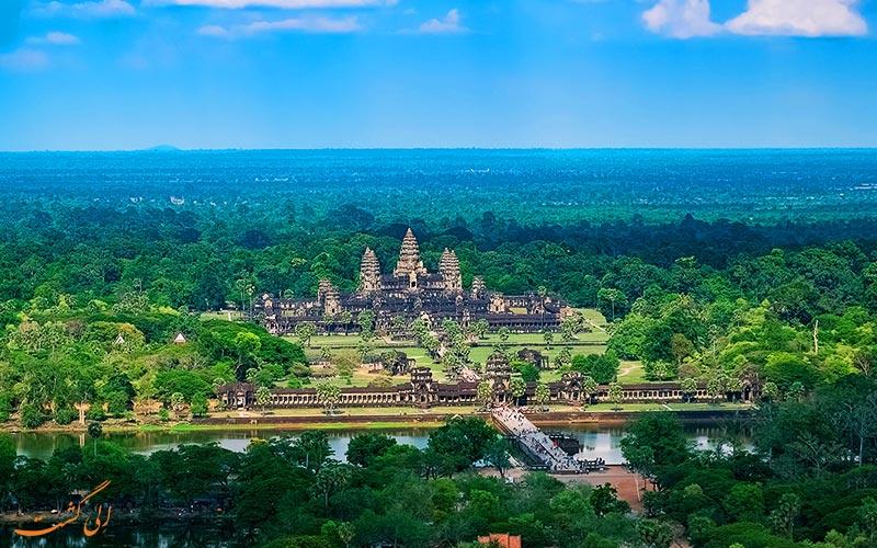 پارک باستان شناسی انگکور وات