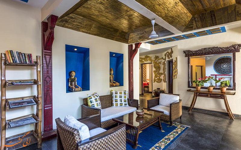محوطه ای در هتل کاسا باگا گوا