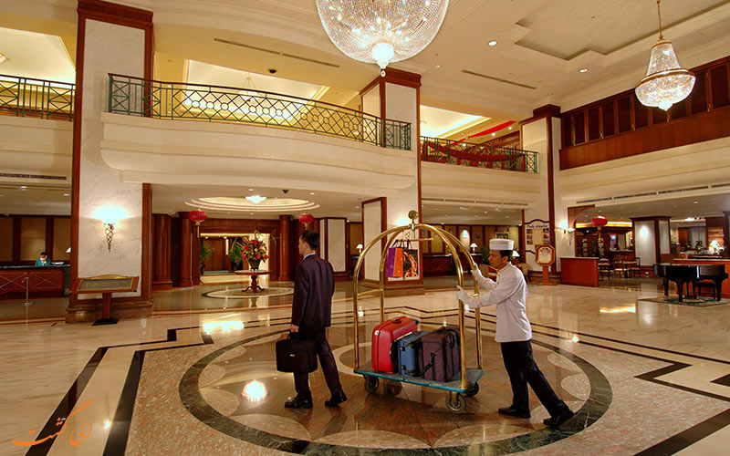 هتل اورگرین لورل پنانگ | لابی