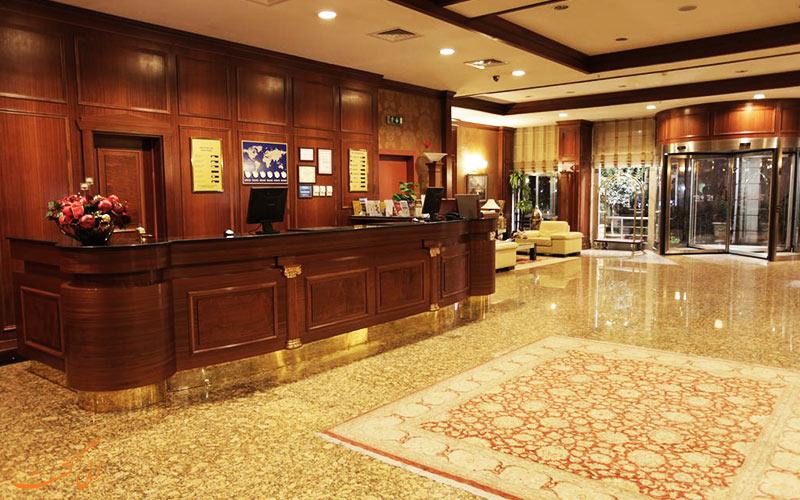 هتل گلدن پارک استانبول | لابی
