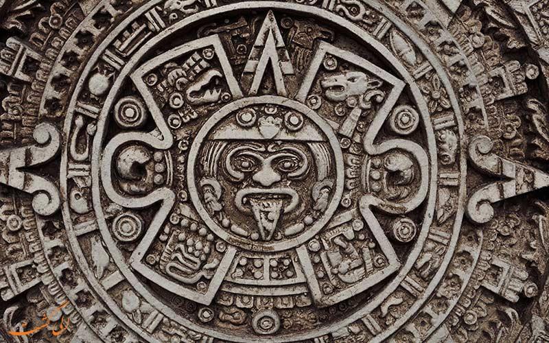 تقویم شمارش طولانی مایا در آمریکای مرکزی