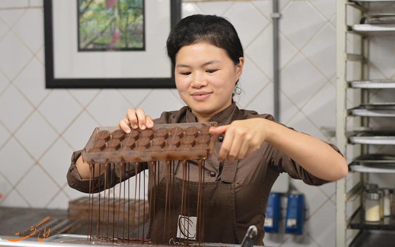 موزه کاکائو و شکلات بروکسل