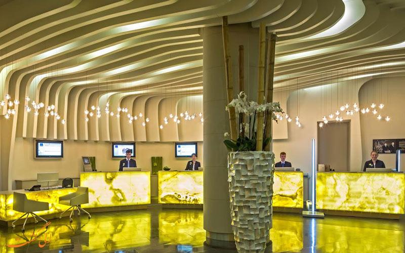 هتل نووتل مسکو سیتی | لابی