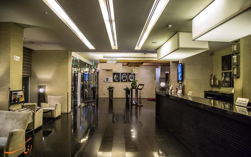 هتل سافرون بوتیک دبی   لابی