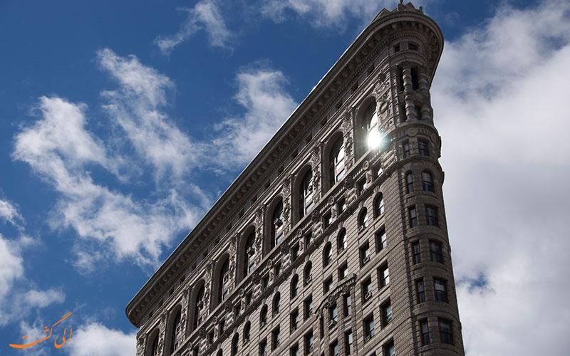 ساختمان فلت آیرن منهتن نیویورک