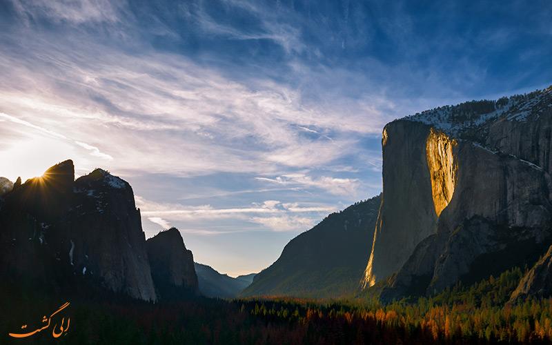 آبشار آتشین یوسمیت | Firefall of Yosemite