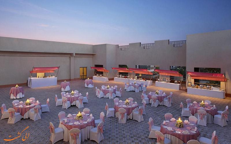 محوطه هتل آی تی سی راجپوتانا جیپور